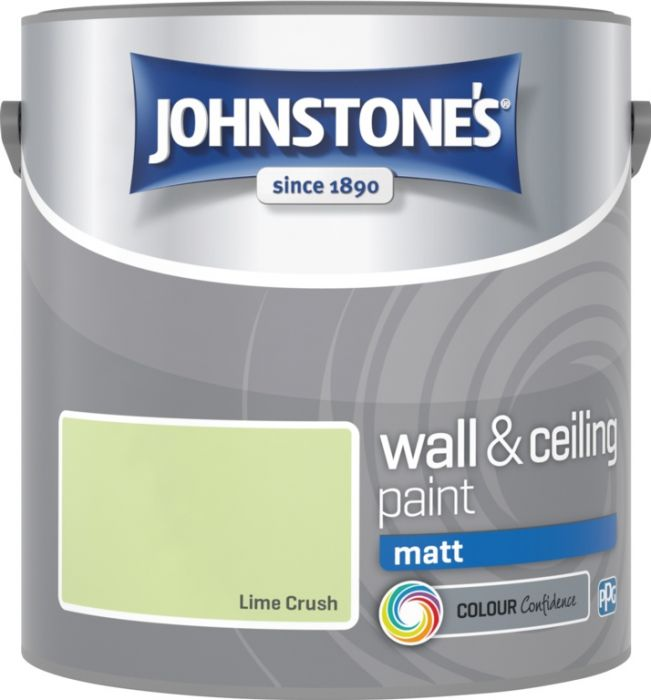 Johnstone's Wall & Ceiling Matt 2.5L Lime Crush