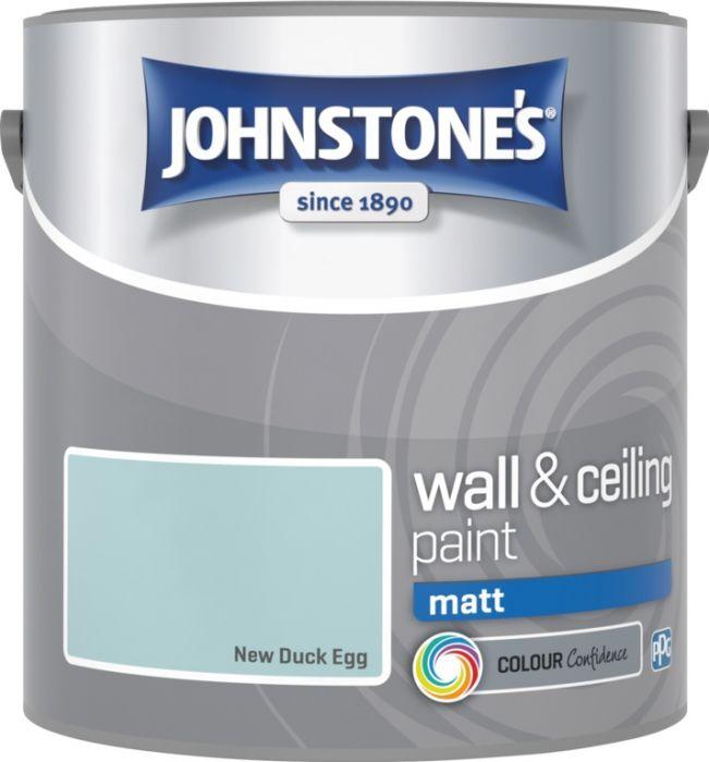 Johnstone's Wall & Ceiling Matt 2.5L New Duck Egg