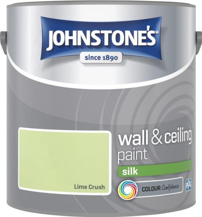 Johnstone's Wall & Ceiling Silk 2.5L Lime Crush