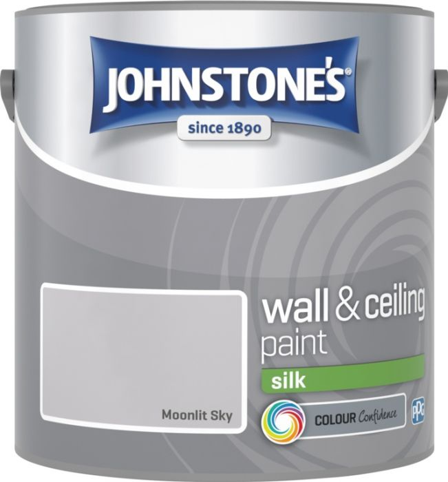 Johnstone's Wall & Ceiling Silk 2.5L Moonlit Sky