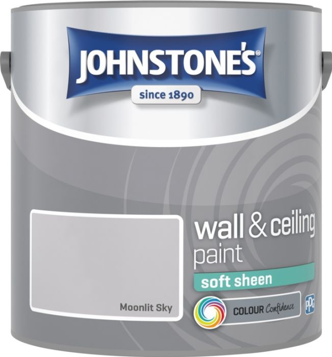 Johnstone's Wall & Ceiling Soft Sheen 2.5L Moonlit Sky