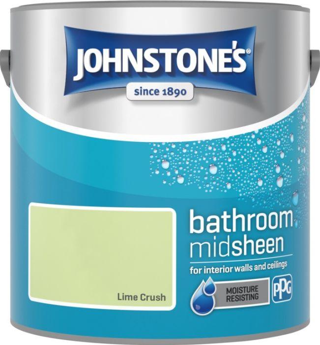 Johnstone's Bathroom Midsheen 2.5L Lime Crush