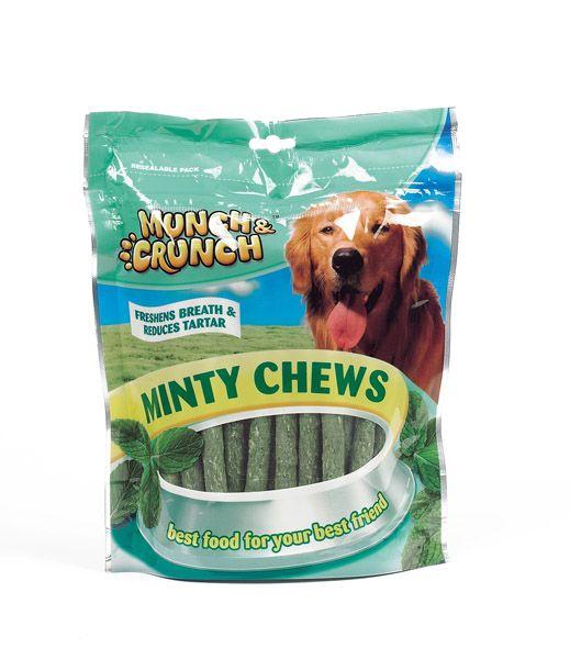 Munch & Crunch Minty Chews 250g