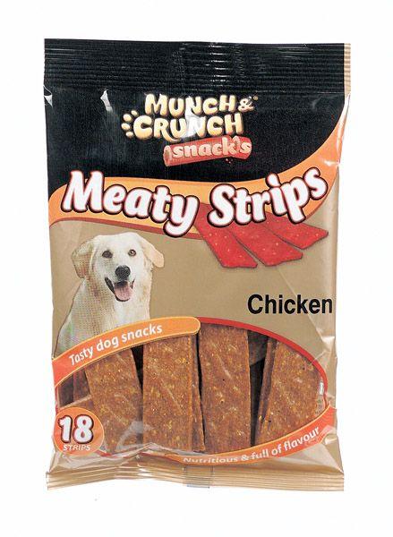 Munch & Crunch Meaty Strips 18 Chicken