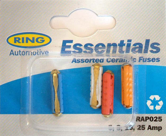 Ring Blade Fuses Continental Fuses 5 8 16 25 amp