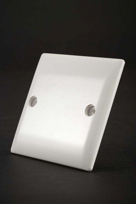 Dencon S/L Blank Plate 1 Gang