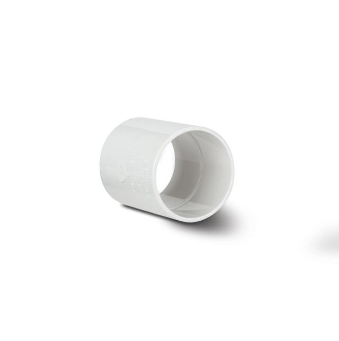 Polypipe Straight Coupling 40mm White