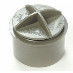 Polypipe Screwed Access Plug 40mm White