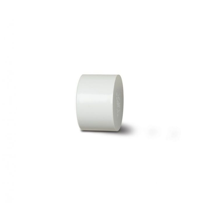 Polypipe Socket Plug 40mm White