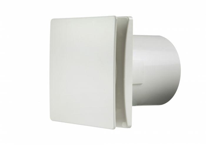Manrose Tile Fan Adjustable Timer White