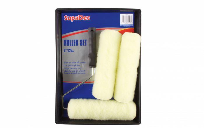 SupaDec Roller & Tray Kit 3x9