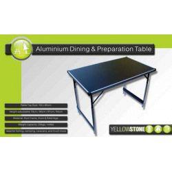 Yellowstone Folding Camping Table 100 X 60Cm