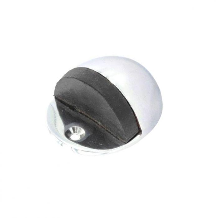 Securit Chrome oval door stop 50mm