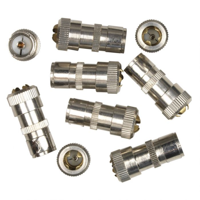 SupaLec Coaxial Female Plug - Metal