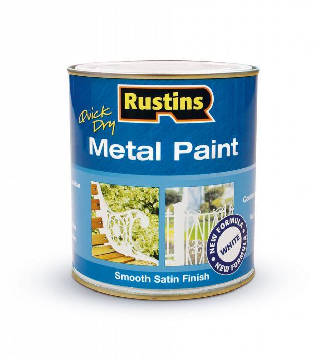 Rustins Metal Paint 250ml White