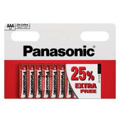 Panasonic Zinc AAA Batteries Pack 10