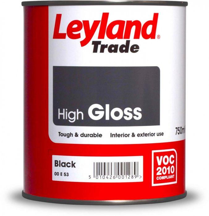 Leyland Trade Gloss 2.5L Black