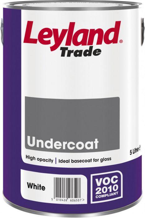 Leyland Trade Undercoat 5L Dark Grey