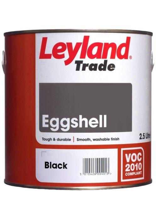 Leyland Trade Eggshell 2.5L Black