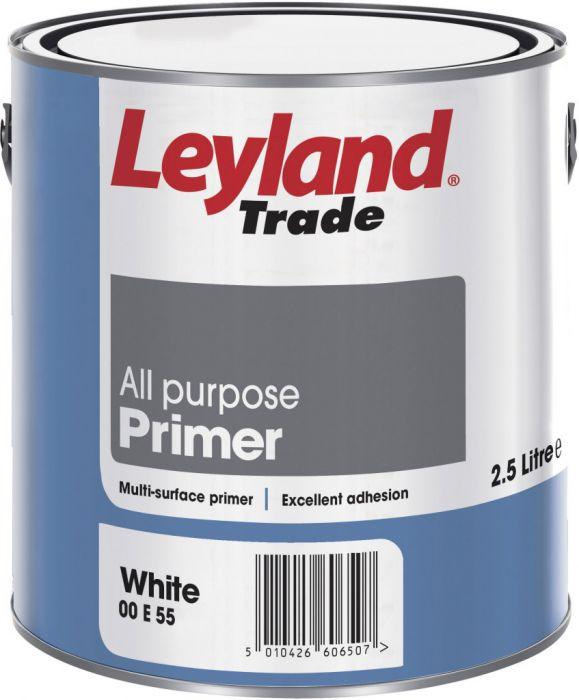 Leyland Trade All Purpose Primer 2.5L White