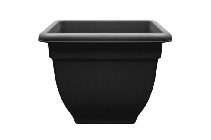 Winchester Square Bell Pot Ebony 45cm