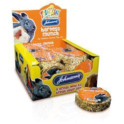 Johnsons Vet Harvest Munch for Rabbits Guinea Pigs etc 70g
