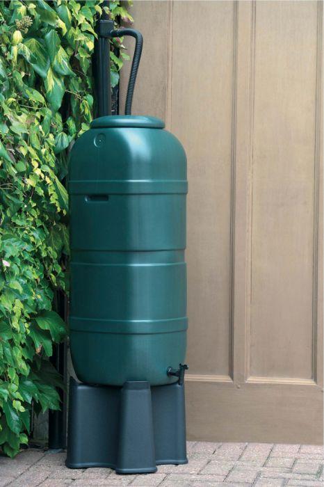 Ward Slim Line Water Butt Set 100L Green