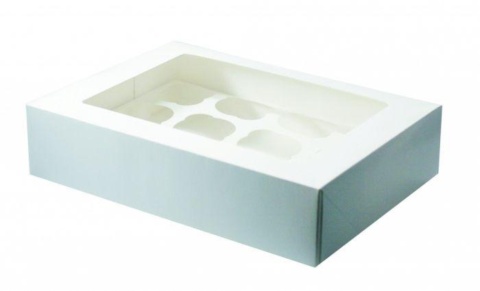 Culpitt White Cupcake Box