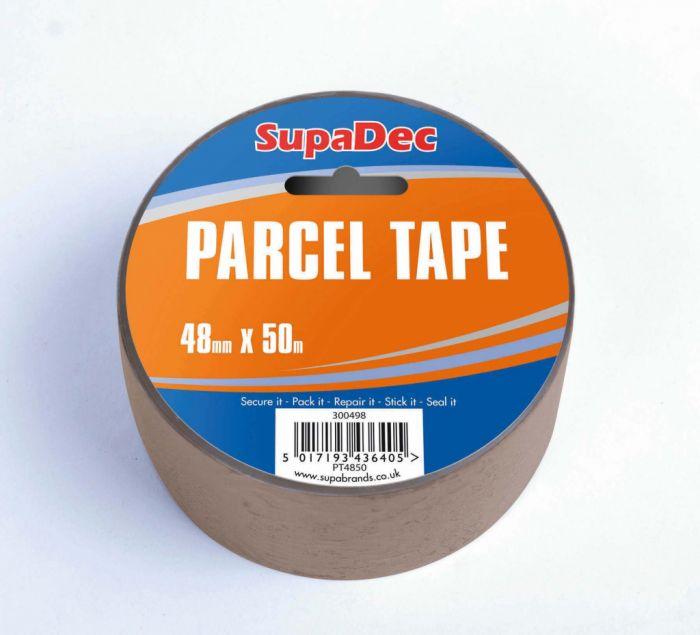 SupaDec Parcel Tape 48mm x 50m