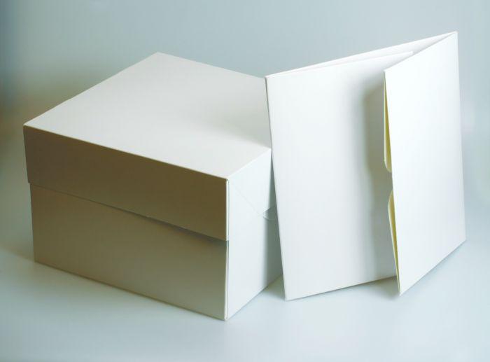 Culpitt Square White Cake Box 12