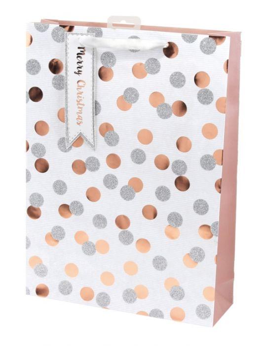 Metallic Spots Bag
