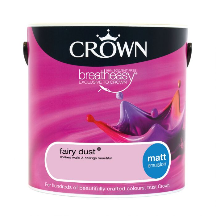 Crown Matt Emulsion 2.5L Fairy Dust