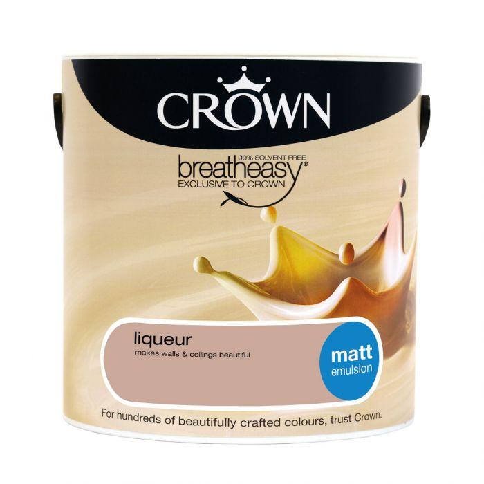 Crown Matt Emulsion 2.5L Liqueur