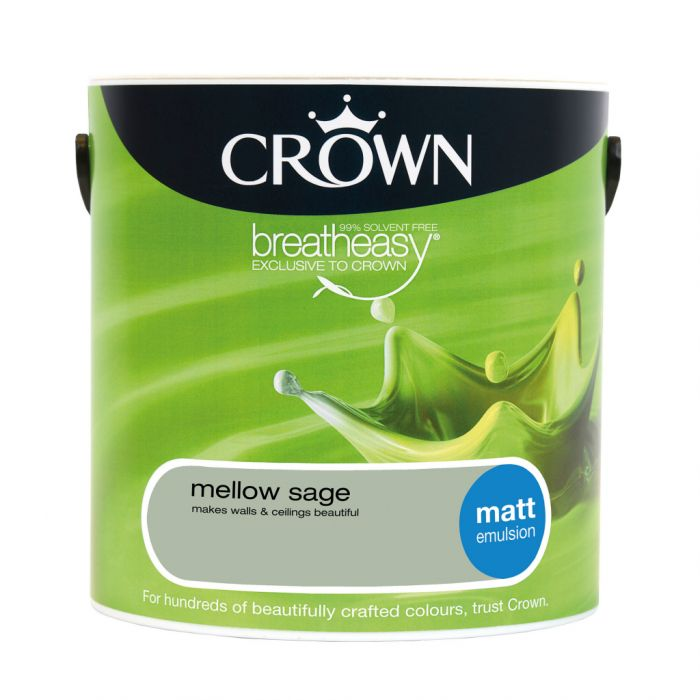 Crown Matt Emulsion 2.5L Mellow Sage