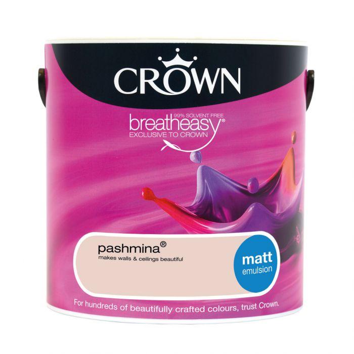Crown Matt Emulsion 2.5L Pashmina