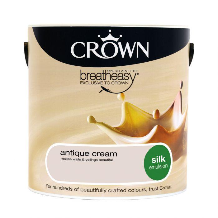 Crown Silk Emulsion 2.5L Antique Cream