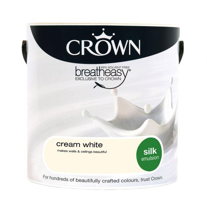 Crown Silk Emulsion 2.5L Cream White