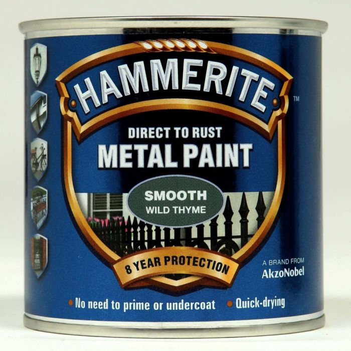 Hammerite Metal Paint Smooth 250ml Wild Thyme