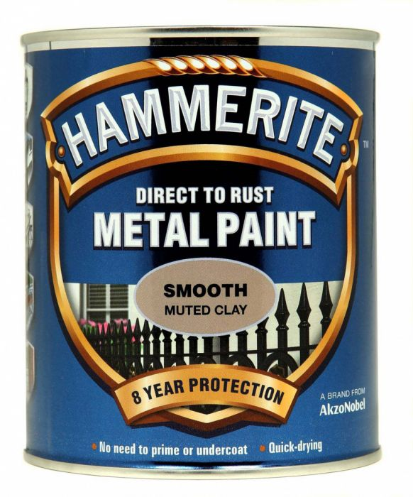Hammerite Metal Paint Smooth 750ml Muted Clay