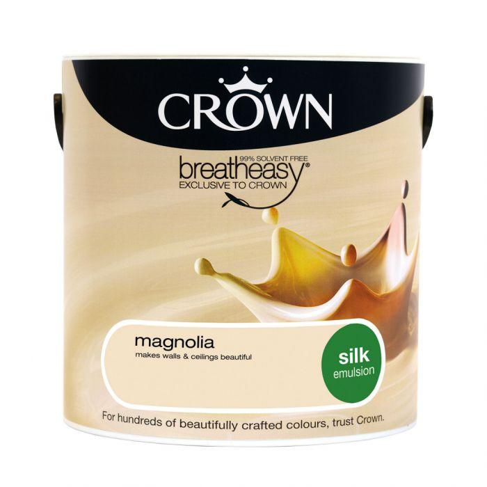 Crown Silk Emulsion 2.5L Magnolia