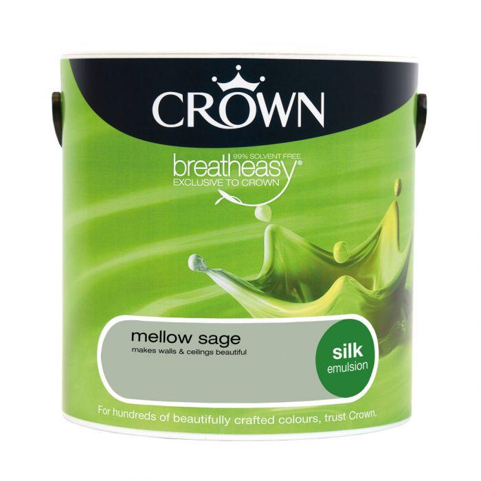 Crown Silk Emulsion 2.5L Mellow Sage