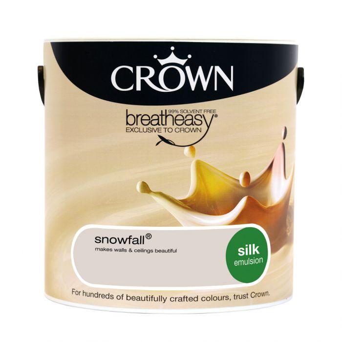 Crown Silk Emulsion 2.5L Snowfall