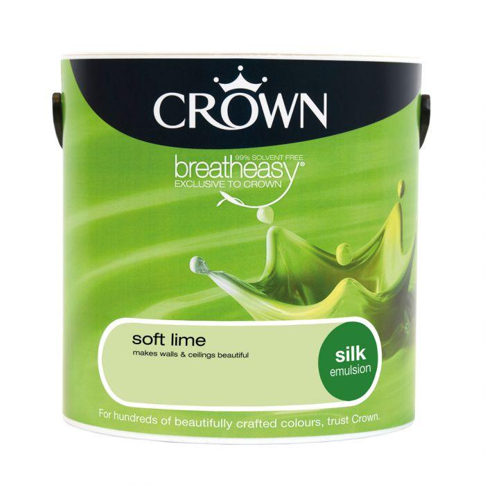 Crown Silk Emulsion 2.5L Soft Lime