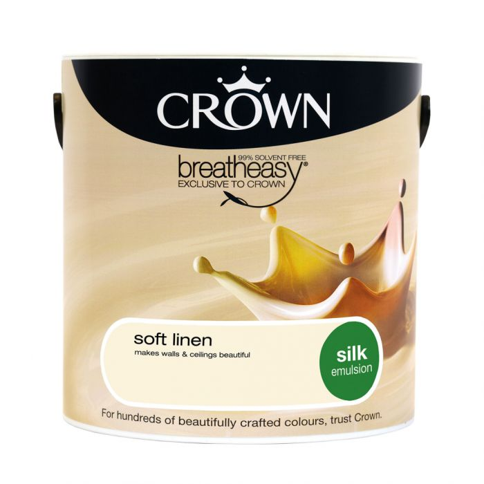 Crown Silk Emulsion 2.5L Soft Linen