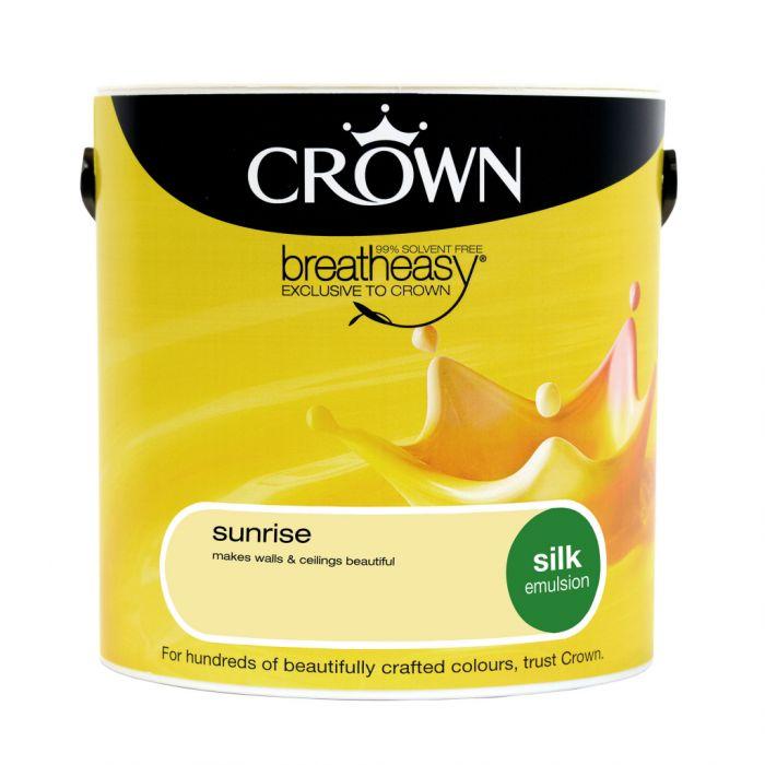 Crown Silk Emulsion 2.5L Sunrise