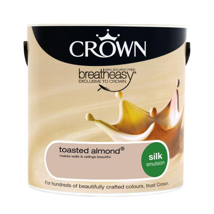 Crown Silk Emulsion 2.5L Toasted Almond