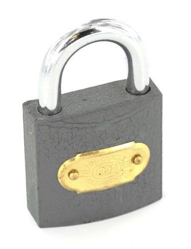 Securit Tricircle Iron padlock Brass cylinder 50mm