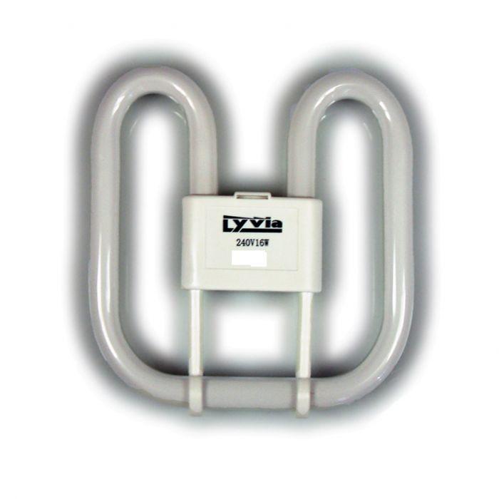 Dencon 16w 2D 2Pin Lamp Bubble Pack (2700K) Bubble Packed