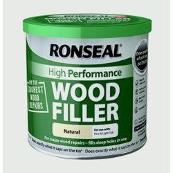 Ronseal High Performance Wood Filler 550g Natural