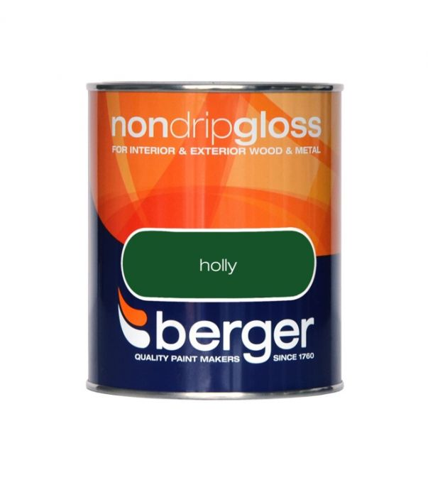 Berger Non Drip Gloss 750ml Holly